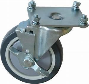 Roue Pivotante : roue pivotante avec frein de rechange pour hm4004 hm4005 hm4011 manutention ~ Gottalentnigeria.com Avis de Voitures