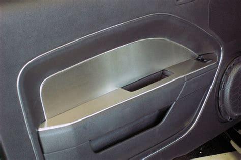 mustang door panel insert american car craft ford mustang 2005 2009 brushed door