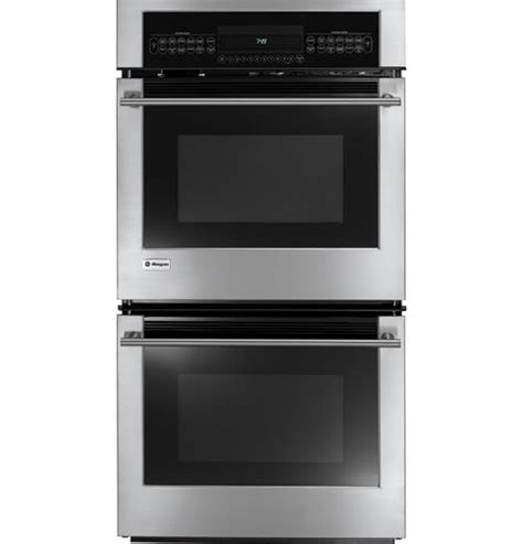 zeksfss ge monogram  built  electronic convection double oven monogram appliances