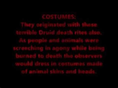 The True Meaning Of Halloween Youtube