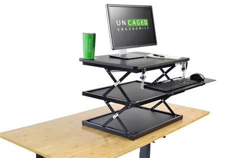 adjustable keyboard tray for desk changedesk affordable standing desk cheap height