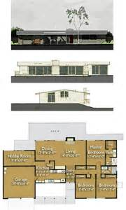 Home Blueprint by Build An Eichler Ranch House 8 Original Design House