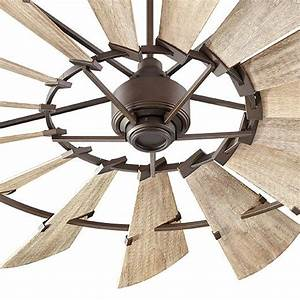 Quot windmill fan by quorum international farmhouse