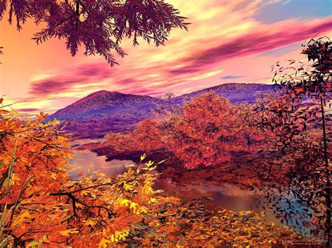 Beautiful Nature Fall Desktop Backgrounds by Autumn Landscape Beautiful Autumn Landscape Free