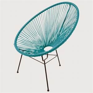 Salon De Jardin Acapulco : fauteuil acapulco ou scoubidou caract rielle ~ Teatrodelosmanantiales.com Idées de Décoration