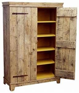 Rustic Barnwood Kitchen Cabinet - Rustic - Storage