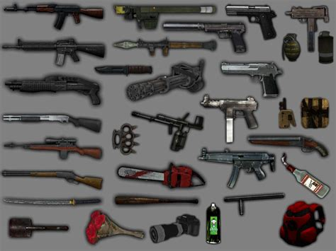New Weapon Pack For Gta San Andreas
