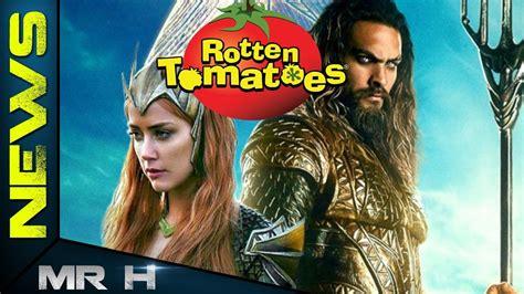 aquaman rotten tomatoes rating   reveals mcu