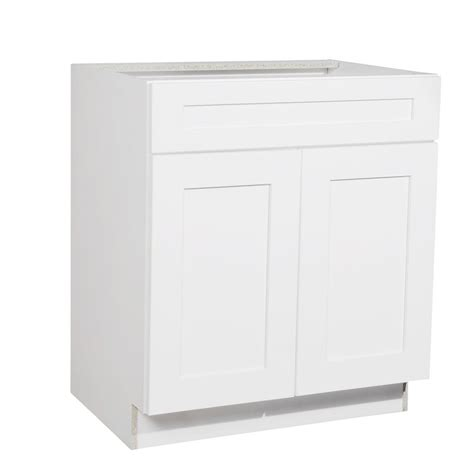 kitchen sink base cabinets krosswood doors ready to assemble 30x34 5x21 in shaker 2 5641