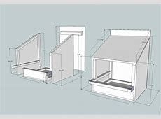 Nesting Box Plans in SketchUp Root Simple