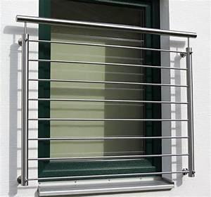 Franzsischer Balkon Reling Bayerwald Edelstahl