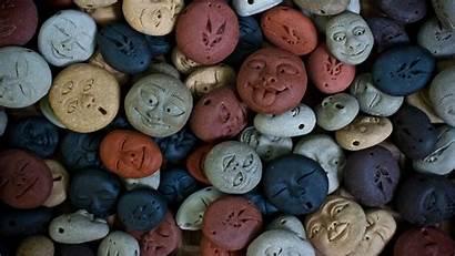 Stones Smile Smiling Rock Background 1080p