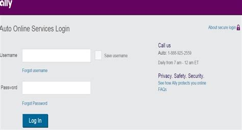 Ally Auto Payment Login Payment