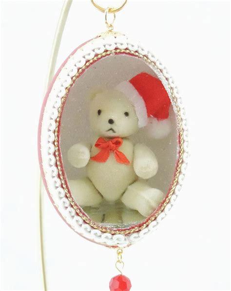 christmas teddy bear ornament teddy bear ornament christmas