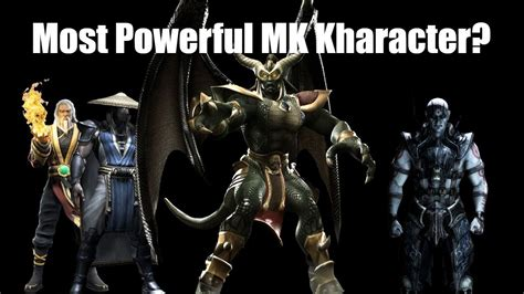 Top 10 Strongest Mortal Kombat Characters Youtube