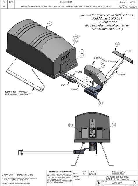 door king gate operator dks operator replacement parts doorking 6300 repair parts