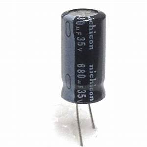 Capacitor 680uf 680 Uf 680mfd 35v Electrolytic 105c Degree
