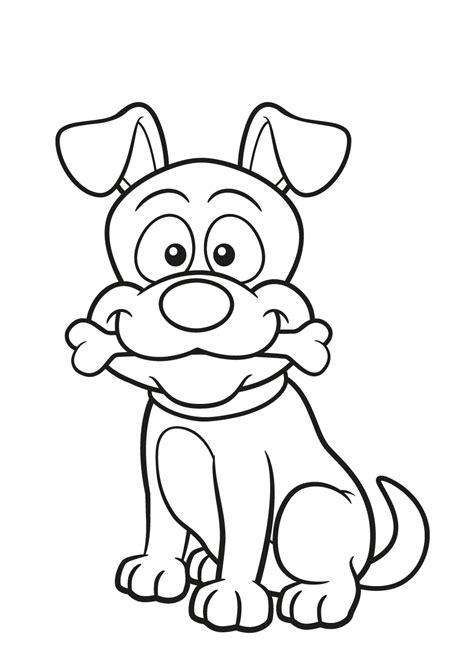 Kleurplaten Hond En Puppy.Kleurplaat Hond En Kat