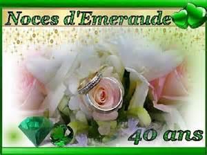40 ans de mariage noce de 35 ans de mariage noces d 39 emeraude