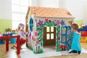 Construire Sa Cabane : comment fabriquer une cabane en carton tuto et plusieurs mod les ~ Melissatoandfro.com Idées de Décoration