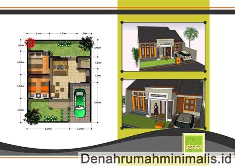 ide desain rumah type  minimalis