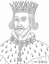 Coloring Pages King Colouring Kings Sheets Arthur Henry Ii Queen Printable Queens Elizabeth Victoria Hellokids England Horrid Prince Princes Famous sketch template