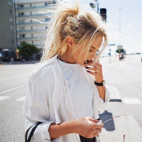 best 20 messy high ponytails ideas on pinterest long