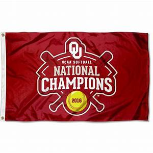 OU Sooners Womens Softball 2016 Champs Flag your OU ...