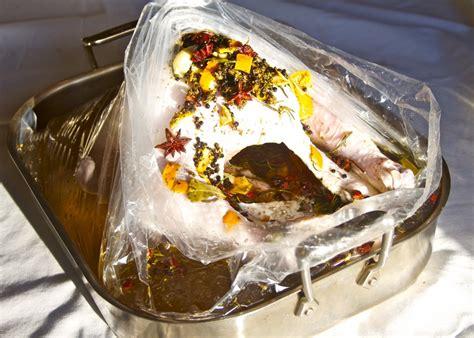 brine turkey how to roast a brined turkey recipes dishmaps