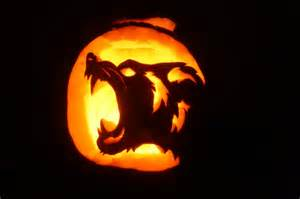 Easy Werewolf Pumpkin Carving Patterns by Werewolf Pumpkin Monster Mash Halloween Pinterest