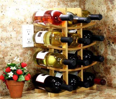 outstanding diy wine rack designs   easy