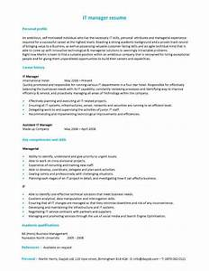 free sample resume templates best format examples