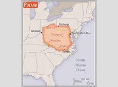 Poland Geography 2017, CIA World Factbook