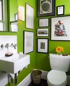Décoration Murale Salle De Bain : peinture salle de bain 80 photos qui vont vous faire craquer ~ Teatrodelosmanantiales.com Idées de Décoration