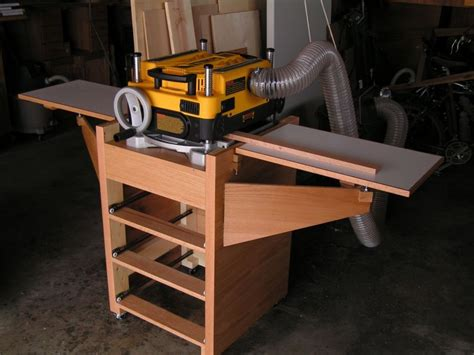 rolling planer stand   woodworking tools