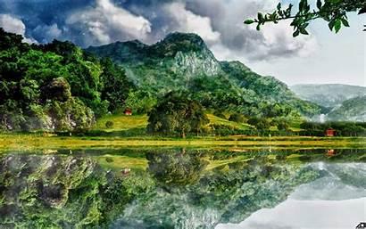 Pemandangan Alam Gambar Untuk Keren Indah Yang
