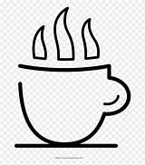 Cup Coffee Coloring Clipart Pinclipart sketch template