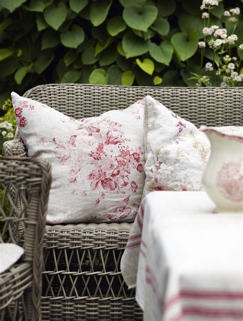 shabby chic outdoor cushions 17 best images about wonderful wicker on pinterest white wicker rockers and wicker furniture