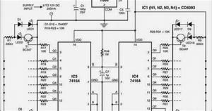 Led Sand Glass Timer Wiring Diagram Schematic