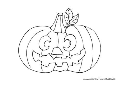Halloween Kürbis  Nadines Ausmalbilder
