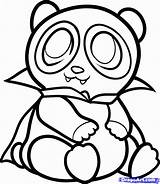 Coloring Panda Pages Clipart Popular sketch template