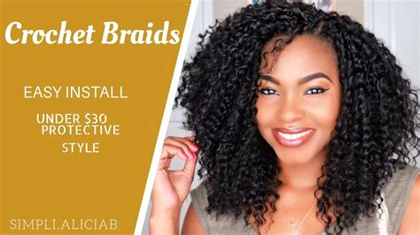 Crochet Braids || Easy Install || Cut & Frame To Face