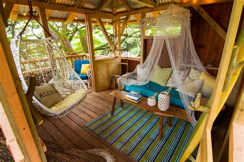 hanging bunk beds free plans at photos the treehouse guys diy