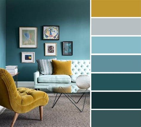 Living Room Color Schemes With Turquoise by Mustard Teal Colour Scheme Teal Times Via Ideas To