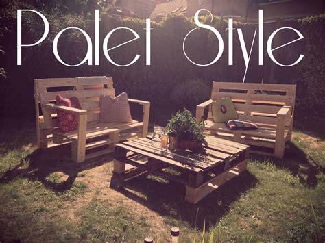 lelskii garden lounge  pallets