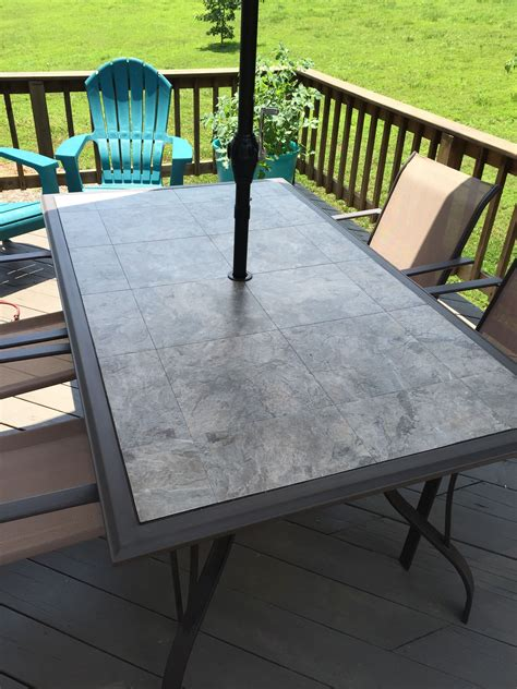 Outdoor Deck Table by The Glass Table Top Shattered In 1 000 Pieces When The