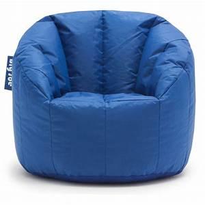 big joe milano bean bag chair multiple colors blue for With beanbag seats