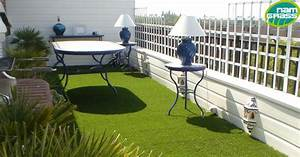 Gazon Pour L Ombre : gazon synth tique balcons cie ~ Premium-room.com Idées de Décoration