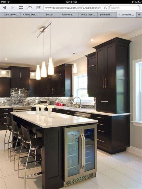 kitchen island  wine cooler kitchen kitchen island