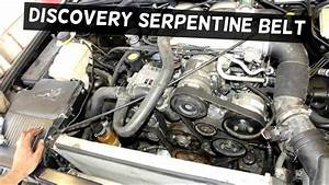 Land Rover Discovery Serpentine Belt Replacement Diagram 4